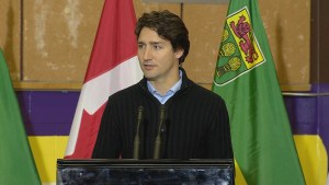 Justin Trudeau: 'All Canadians mourn with La Loche'