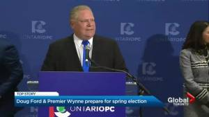 Ford starts campaigning officially on day 1 as Ontario PC Party leader
