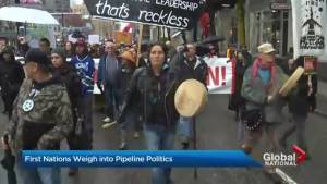 First Nations communities weigh into pipeline politics