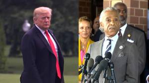 Trump escalates feud with Congressman Cummings, takes aim at Al Sharpton