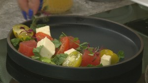 Easy, fresh spring salad recipe from the Lazy Gourmet