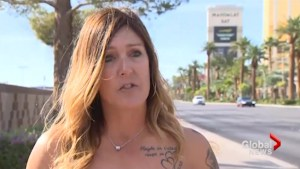 Canadian woman recalls being rescued by other survivors a year after the Las Vegas shooting