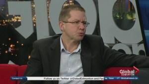 Edmonton councillor presenting Terwillegar Corridor motion