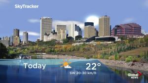 Edmonton early morning weather forecast: Wednesday, October 17, 2018
