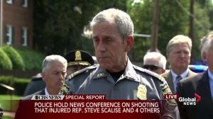 Police provide timeline of response to shooting in Alexandria, VA