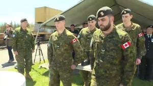 D-Day anniversary ceremony held at Kingston train station