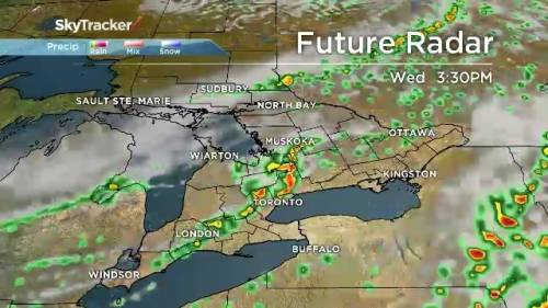 Weather Radar Map Ontario Canada Radar shows severe weather on the way for southern Ontario | Watch