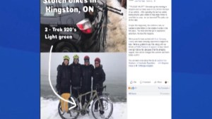 Fundraisers, their custom bicycles stolen