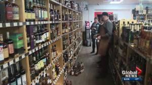 When will Alberta's supply of B.C. wine dry up?