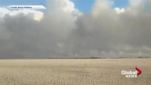 Viewer video shows fire on Siksiska First Nation