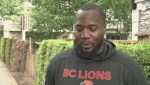 B.C. Lions player struggles to find housing in Lower Mainland
