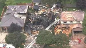 Kitchener residents shocked by criminal investigation after house explosion