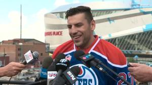Milan Lucic says he picked Edmonton so he could play with Connor McDavid
