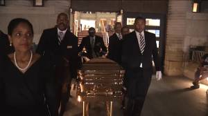 Aretha Franklin's casket removed from museum ahead of funeral service