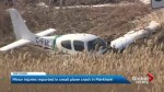 Instructor and student suffer minor injuries in Markham plane crash