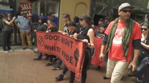 Antifa group marches to Charlottesville memorial as security ramps up on anniversary of protests