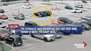 Stoned teen slams baby to the ground in parking lot in Oklahoma