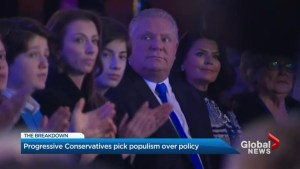 Doug Ford's populist approach could mean trouble for Kathleen Wynne