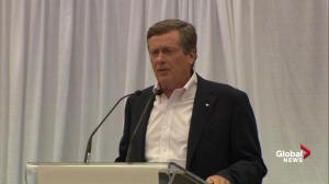 John Tory working together with Doug Ford, shares memories of CNE