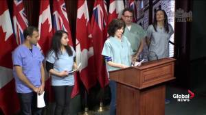 Doctors group rails against Wynne's mismanagement of healthcare system