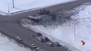1 month after Humboldt Broncos bus crash