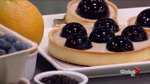 Chez Christophe: Baking with blueberries
