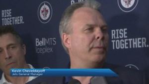 Winnipeg Jets Kevin Cheveldayoff on Joe Morrow