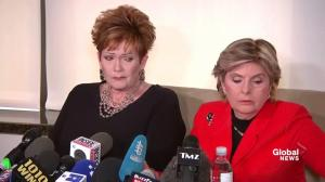 Gloria Allred shows off drawing, signed yearbook from latest Roy Moore accuser