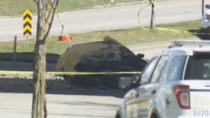 Homicide investigators take over Surrey crash
