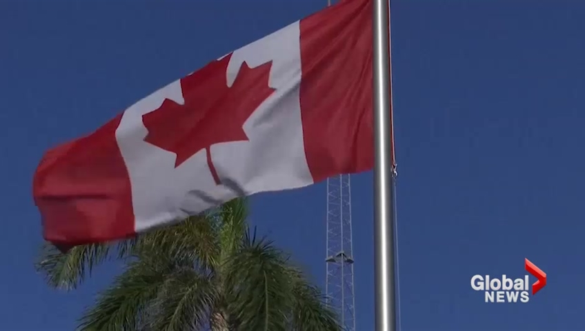 Click to play video 'Canada pulls families of diplomatic staff from Cuba after mysterious health symptoms'