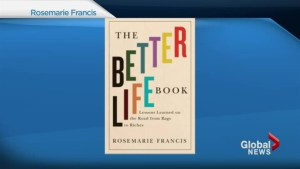 Rosemarie Francis and 'The Better Life Book'