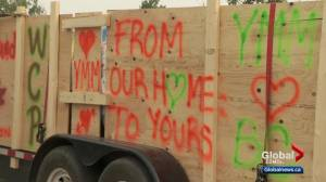 Fort McMurray sends truckload of supplies to help with B.C. wildfires