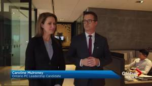Caroline Mulroney asks Patrick Brown to drop out of PC leadership race