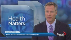 Hep A discovered in some Western Family brand pinapple