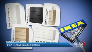 Ikea is renewing a recall