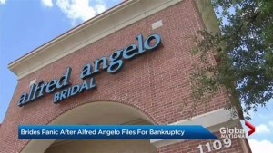 Brides scramble for wedding dresses after Alfred Angelo closes down