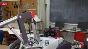 Mars rover example of University of Saskatchewan student experience fund