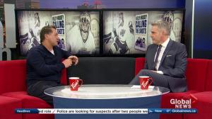 NHL player turned broadcaster Kelly Hrudey shares story in new book 'Calling The Shots'