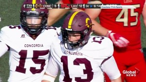 Concordia University quarterback speaks out after the RSEQ's ruling on violent hit