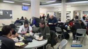Saskatoon shelters full as homeless seek relief from bitter cold