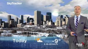 Edmonton morning weather forecast: Thursday, February 21, 2019