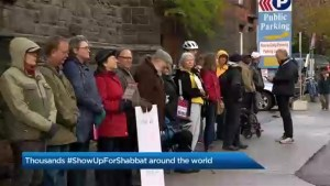 Shabbat in Solidarity events held around the world one week after Pittsburgh synagogue shooting