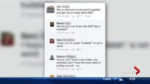 Alberta 'kudatah' plot sparks mockery on social media