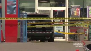 Man dead, 2 police officers injured after exchange of gunshots at Burlington gas station