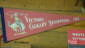 Calgary Stampede exhibit celebrates 1919 'Victory Stampede'