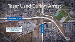 Taser deployed during arrest in Calgary