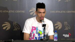 Danny Green jokes Patrick McCaw is a 'good luck charm'