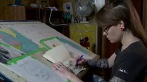 Art brings clarity for Ontario woman with autism (01:56)