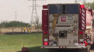 Arrest made in connection with 3 grass fires in northeast Edmonton
