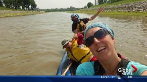 Edmonton family on their 5 month cross-Canada canoe adventure